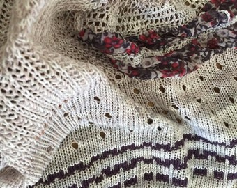 Smokey Mountain Wildflower scarf