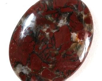 Red Jasper Agate Cabochon 30 x 40mm  C6