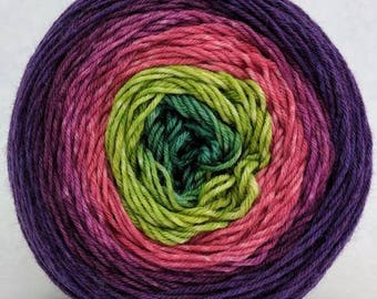 Just Beet iIt Panoramic Gradient, dyed to order - pick your yarn and yardage!