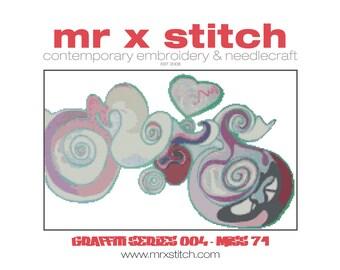 Graffiti Cross Stitch #004 - Miss 71