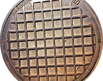 DOORMAT - Cambridge, MA Sewer Cover - Original Photography
