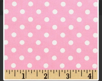 Candy Pink Dumb Dot discontinued/ Michael Miller / NEW / Yardage