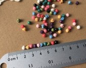 100pcs+ 5mm Tiny Mushroom Shanks Buttons for Baby/Babydoll Clothing-B