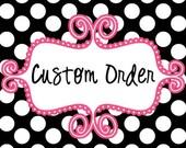 15 Custom Mardis Gras Beads