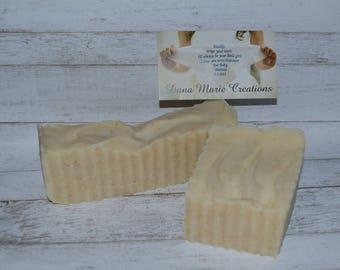 2 Organic Oatmeal Brown Sugar Handcrafted Handmade Natural Soap #AKFJ