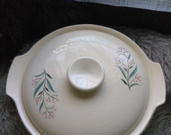Homer and Laughlin Covered Serving Dish HLC 1583 Pattern