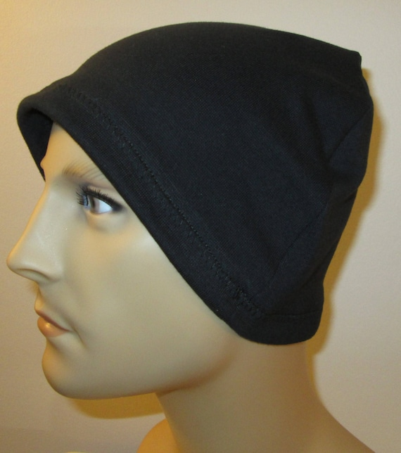 2 for 12.00 Mens Chemo Hat Liners Helmet Liner cj hats Sleep Knit Cap  Knit Cotton Stretch cj hats