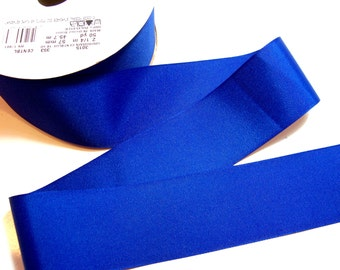 Blue Ribbon, Offray Century Blue Grosgrain Ribbon 2 1/4 inches wide x 50 yards, Full Bolt