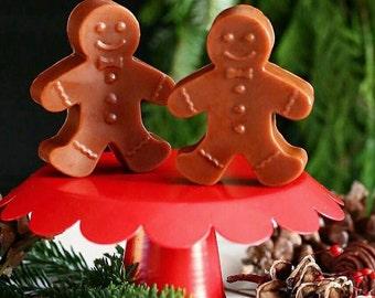 Christmas Stocking. Stocking stuffer for women. Stocking stuffer for men. Under 5 gift. GINGERBREAD MAN Soap. Holiday Soap. Stocking stuffer