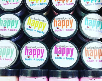 Spring. Mom Gift. Womens. Moisturizer.  PEACH SORBET Body Butter. LARGE Jar, Peaches, Gift for Her. Sister, Dainty, Best Friend Gift