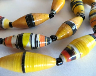 Paper Beads-Recycled Paper Beads