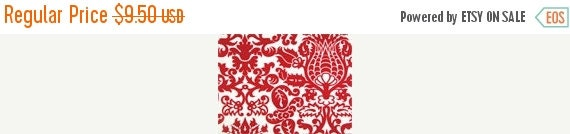 ON SALE TODAY Table Square Amsterdam damask red on White centerpiece square wedding bridal 20""