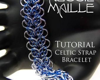 Chain Maille  Tutorial - Celtic Strap Bracelet