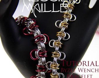 Chain Maille  Tutorial - Byzee Wench Bracelet