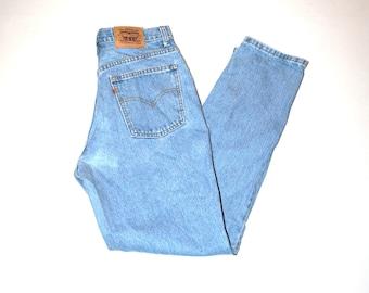 tall skinny levis mom jeans 90s vintage light wash denim levis jeans size 30