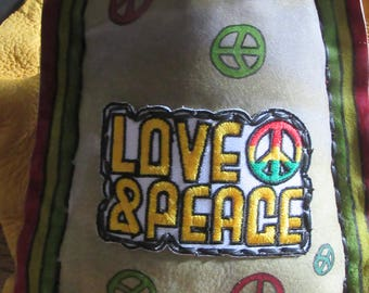 Rasta Love & Peace  padded bag