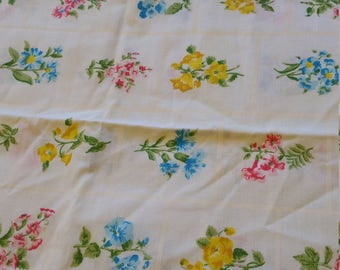 spring flowers standard pillow case