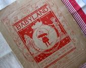 Reserved for Betty - Vintage Babyland Magazine, 1898, Shabby, Sweetly Illustrated, Advertisements