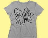 Southern Y'all SVG File for Cricut or Silhouette