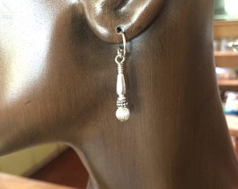 Earrings in Sterling Silver #a