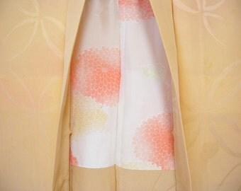 Vintage haori S386,  biwa color silk,