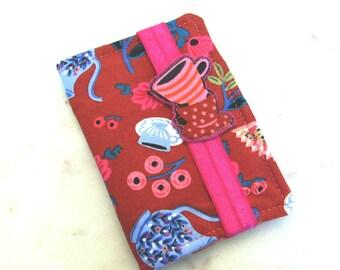 Tea Wallet, Tea Bag Holder, Rifle Paper Co. Wonderland, Alice, Tea Party, Tea Bag Case, Tea Bag Wallet, Travel Tea Storage, Mothers Day Gift