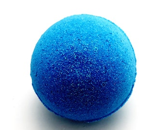 Blueberry Hill Bubbling Bath Bomb/phthalate free/Spa Gift
