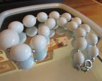 big white beads