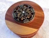 Cedar Jewlry Box/Memory Box with Lid