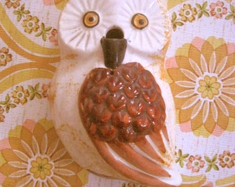 Vintage Owl String Holder