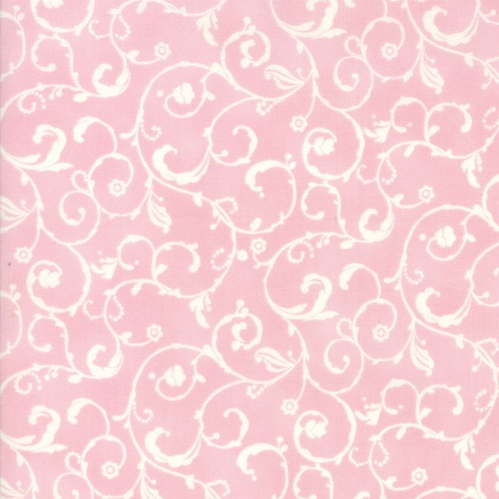 pink white scroll - photo #16