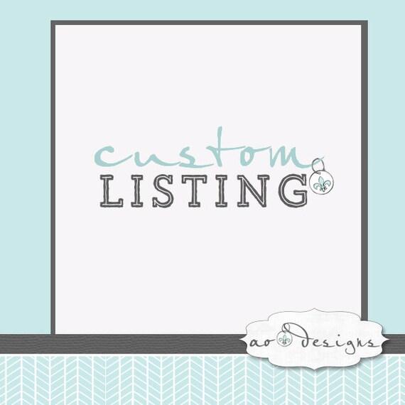 """Custom Listing for """"The Sun"""""""