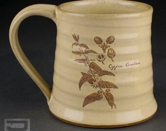 Ceramic Decal Mug - Coffee Arabica