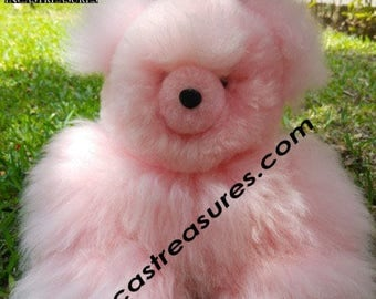 Alpaca Stuffed Teddy Bear Pinky FREE SHIPPING Worldwide