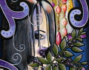 Gothic Children - Laila - Original Art