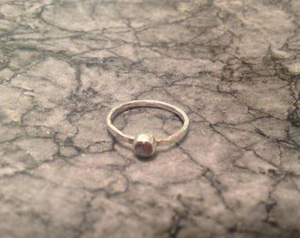 Labradorite skinny stacking ring, slim ring, designsbylucy.