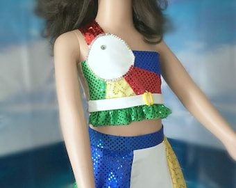 Custom Made To Order Katy Perry California Girls Theme Costume, Pageant, Dance and more