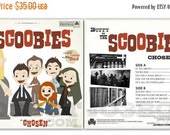 ON SALE Buffy and The Scoobies Front and Back Set - 12.5 X 12.5 Print(s)