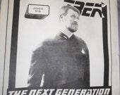 STAR TREK: Men's Uniform Jacket Pattern sizes s thru xl - UNCUT