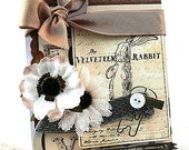 vintage style card-THE VELVETEEN RABBIT-whatever you are be a good one all occasion card