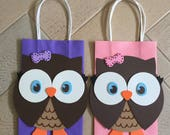 RESERVED LISTING for Lynn Roberts - Owl Bags