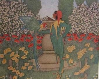 Stories for Pictures - 1912 - Art nouveau - Dugald Stewart Walker illustrations