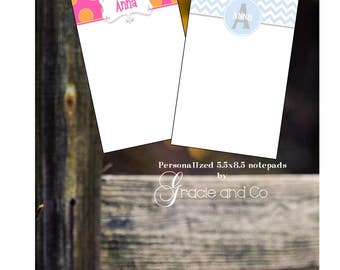 custom personalized notepads special order