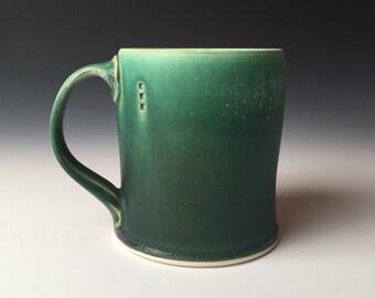Diner Mug - tall - dark green