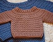 Crochet PATTERN  - Boy Sweater