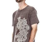 Clearance Sale Henna T-Shirt Design Tri-Blend t-shirt, Men's t-shirt, Unisex t-shirt, Mens graphic tee, CLEARANCE