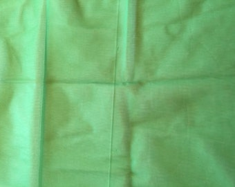 Dark Green Tulle Fabric 2 Yards