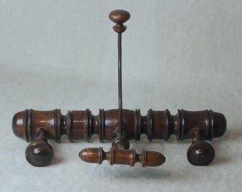 Antique French Portmanteau, Hat and Coat Rack, SALE, Get 25% OFF, Use coupon code 25percentoffwow at checkout!