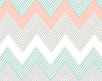 home decor fabric chevron joan mclemore fabric etsy 10978