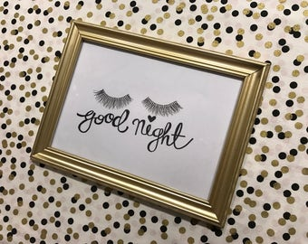 Good Night Picture Frame